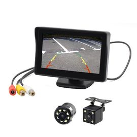 TFT 4.3'' Car Rear View Monitor 338g Light Weight Low Power Consumption